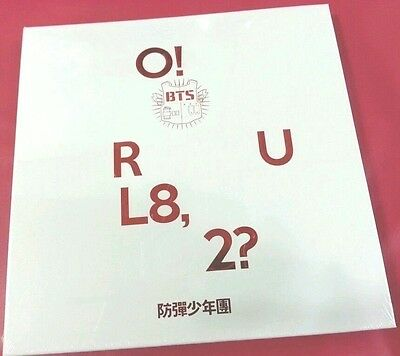 BTS 1st Mini Album [O!RUL8,2?] Vol.1 :: CD with Booklet+2Photocard+Folded Poster