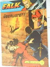 1   x Comic  - Falk - Band 13 - Überlistet !  - mit Sammelmarke - Lehning