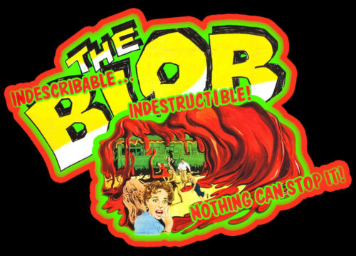 50/'s Horror Classic The Blob Poster Art custom tee Any Size Any Color