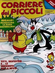 Corriere Dei Piccoli 4 1992 Arriva Fievel Gatto Silvestro E Titti