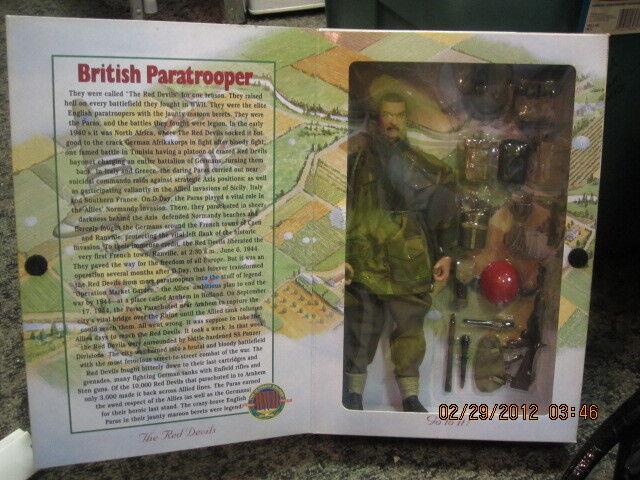 Menta en caja el soldado definitivo  paracaidista británico