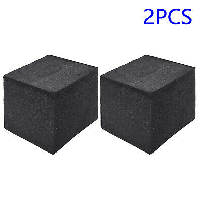 2 Schalldichtes Studio Acoustic Corner Cube Bassfalle Schaumabsorption Schwarz