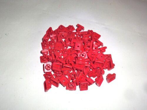 Playmobil X System Steckverbinder Verbinder rot gelb Schlüssel