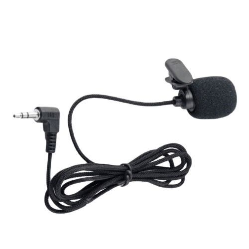 1 of 1 - 3.5mm Jack Clip-on Lapel Mini Lavalier Microphone Mic For IPhone/SmartPhone