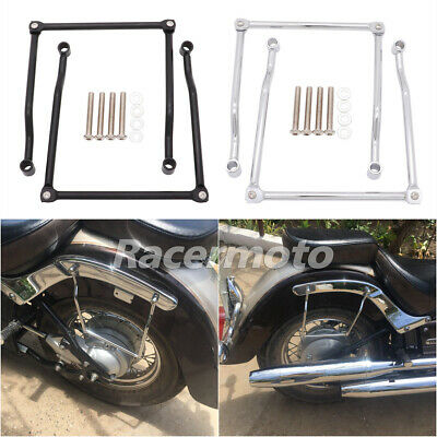 Saddlebag Supports For Honda Rebel 250 CMX250C Magna VF250 VF750 VTX1300 VTX1800