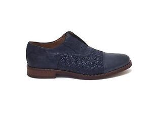 Caricamento dell immagine in corso Soldini-uomo-scarpe-stile-inglese-20146- pelle-blu- 83ddf022687