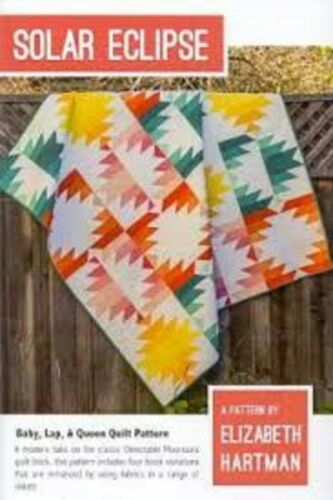 Quilt pattern by Elizabeth Hartman Solar Eclipse