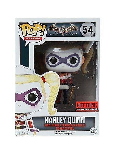 FUNKO POP DC Harley Quinn Arkham Asylum HOT TOPIC Pre Lanzamiento Exclusivo 54