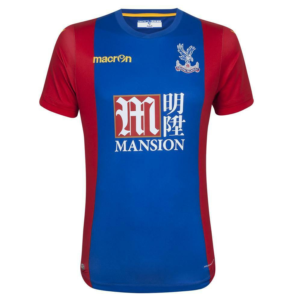 Crystal Palace 2016 17  Home 3XL, 2XL, XL jugador cuestión S S Body Fit Camisas de fútbol  el precio más bajo