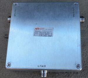 Details about VHF High Power Circulator 146 - 174 MHZ M/A-COM CXH4196Q 400  Watt MACOM Isolator