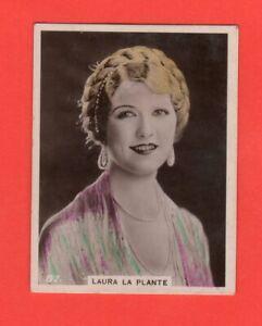 1920's  87. Laura La Plante  BAT CINEMA STARS, SET 6A  Film Card Rare