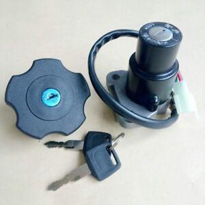Ignition-Switch-Fuel-Gas-Cap-Keys-Set-For-Yamaha-DT200-DT200R-91-94-TW200-03-17
