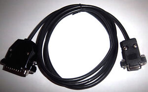 RS232-NEGRO-Serial-DSUB-9-Pines-25-Cable-Datos-para-Entertainment
