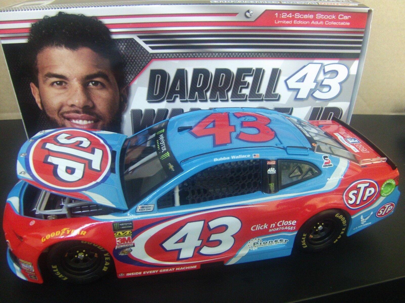 Darrell Wallace 2018 STP Richard Petty Camaro ZL1 1 24 24 24 NASCAR 7c00cf