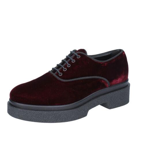 40 Femmes Chaussures Burgundy Bs636 eu Pour Jeannot Velvet Elegant 10 40 BCqFanCw