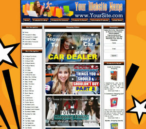 AMAZON STORE - Complete, Ready Made Affiliate Website - Google Adsense Earnings