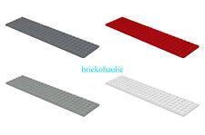 Lego Plate 6 x 24 Parts Pieces Lot Building Blocks ALL COLORS