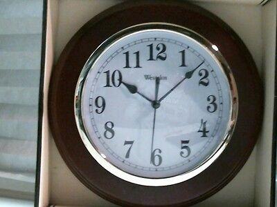 Westclox Deerfield Quartz Decorative Wall Clock 46081 Ebay