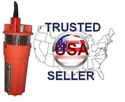 Farm & Ranch SOLAR POWERED Submersible DC Water Well Pump 12v/24v 200FT+ Lift