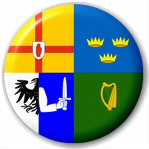 Irish County Flag 25Mm Pin Button Badge Lapel Pin Four Provinces