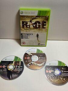 Rage-Microsoft-Xbox-360-2011-MANUALE-GIOCO-NO