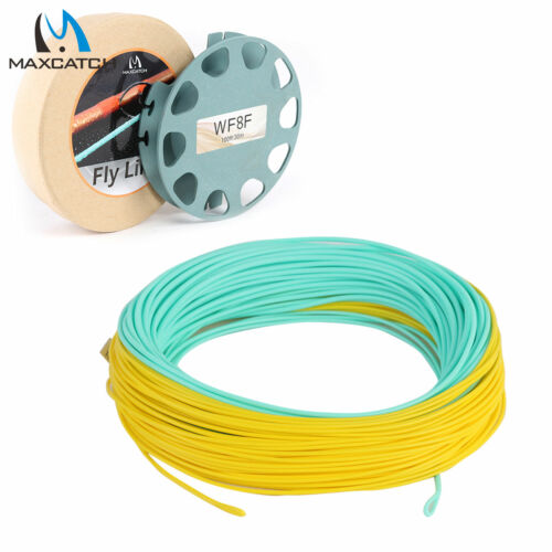 Maxcatch WF 8//9//10WT General Purpose Saltwater Fly Fishing Line with Welded Loop