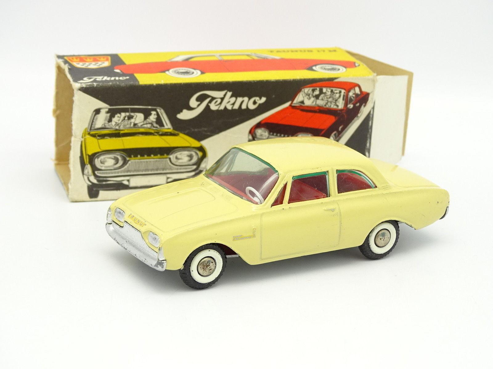 Tekno 1 43 - Ford Taunus 17M Jaune Clair 826