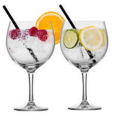 Gin Tonic Glasses G&T Drinks Cocktail Balloon Bar Glass Wine Mix Drinking 550ml