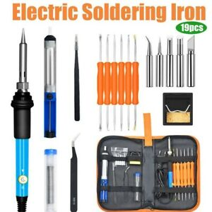 Electric-Soldering-Iron-Gun-Tool-Kit-110V-60W-Welding-Desoldering-Pump-Tool-Set