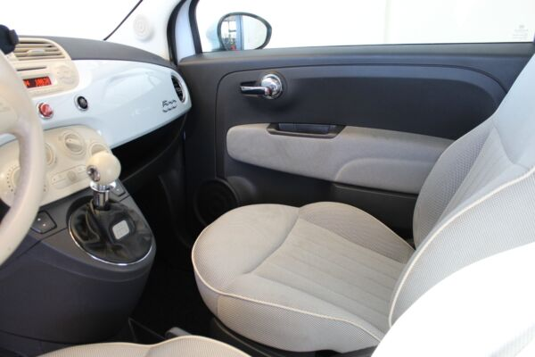 Fiat 500 1,2 Lounge billede 10