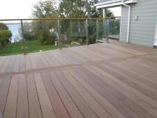 90mm x 19mm Ipe Smooth Hardwood Contemporary Garden/Patio Decking/Deck Boards