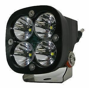 Baja Designs Squadron Sport Pair ATV LED Light Flood Work Pattern