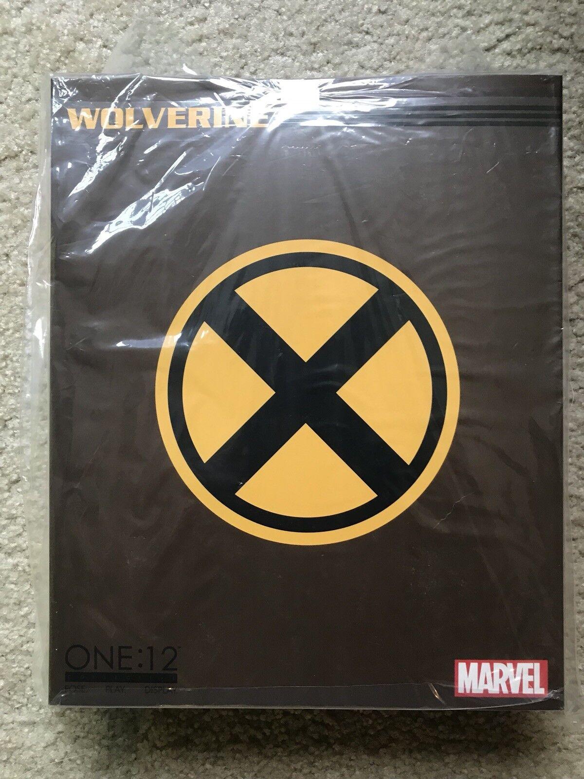 Mezco leksakz One 12 Collective Wolverine verkan Figur 6 tum NIB I HAND