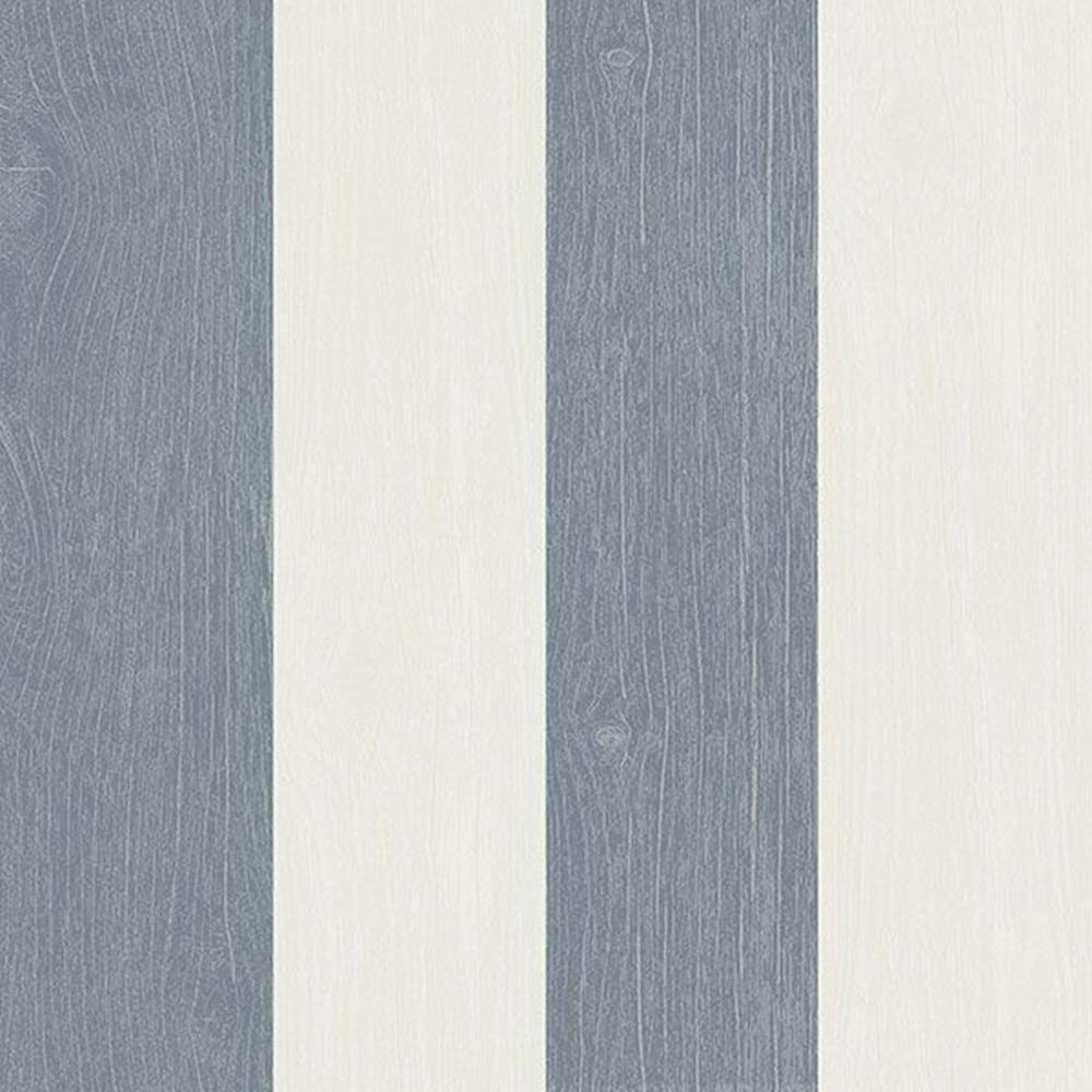 21012 - Skagen Striped Blau Cream Galerie Wallpaper