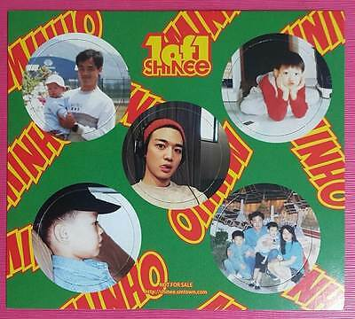 SHINee MINHO Official PHOTOCARD 1 of 1 5th Album Photo Card