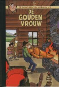 Nero-Middelkerke-13-De-gouden-vrouw-Hardcover-met-linnen-rug
