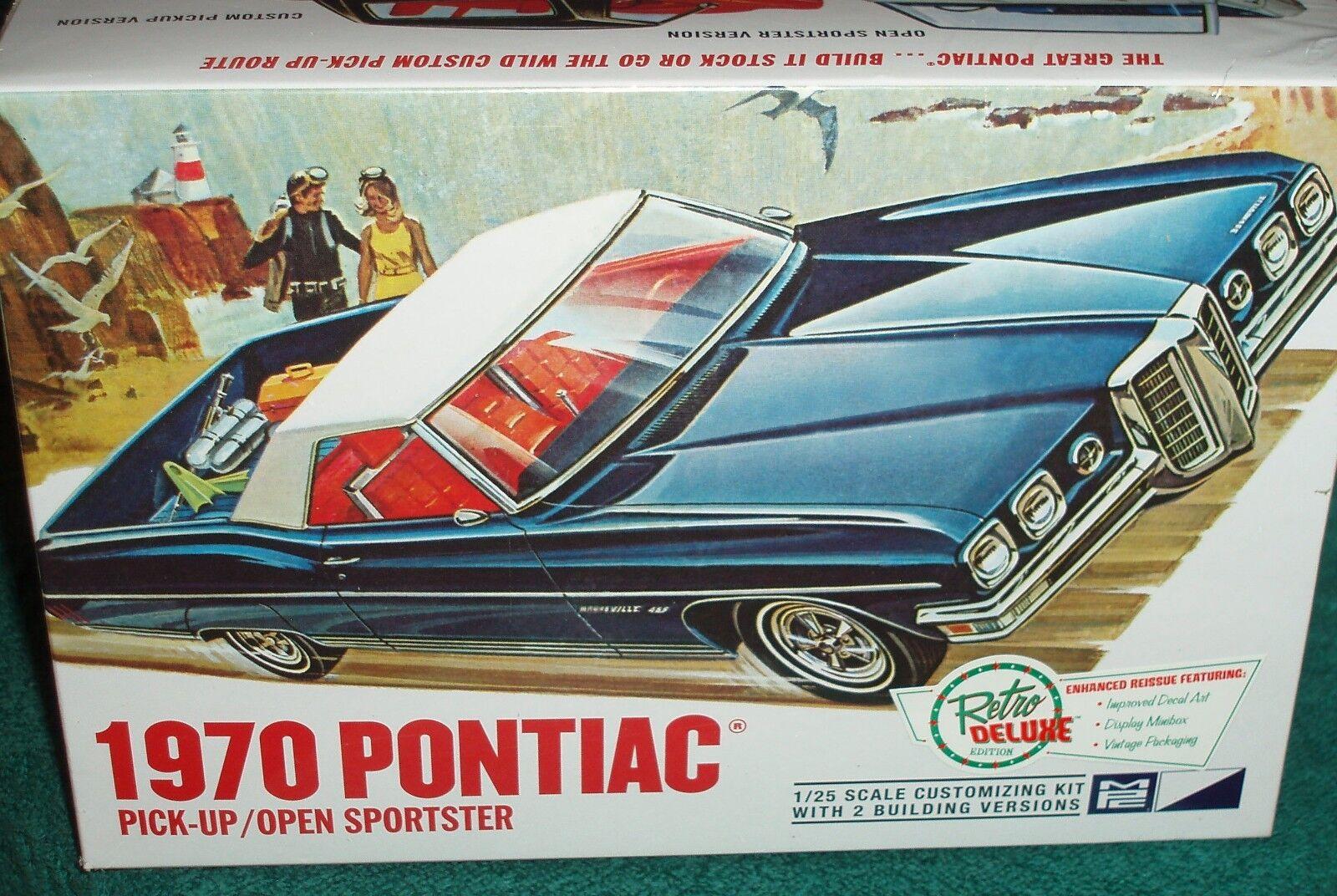envío gratuito a nivel mundial MPC 1970 Pontiac Pontiac Pontiac recogida o abrir Sportster 1 25 Kit plástico modelo  primera reputación de los clientes primero
