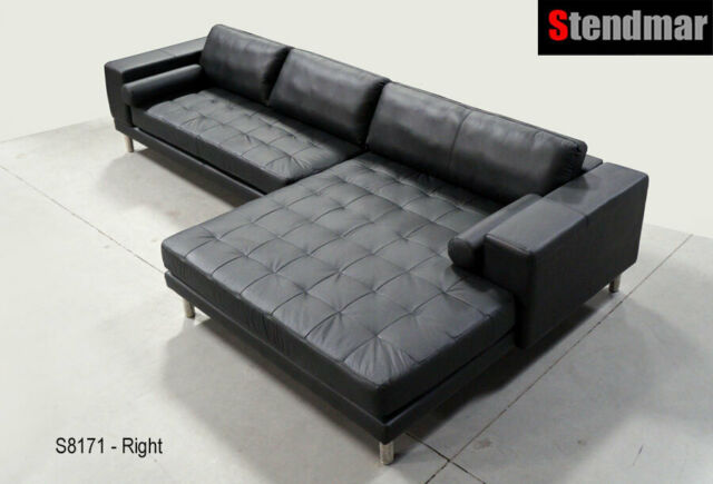 MODERN EURO DESIGN LEATHER SECTIONAL SOFA S8171