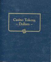Whitman Classic Casino Token Dollars Album 9174
