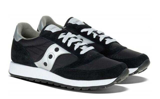 Saucony Jazz Sneakers Nero Scarpe Donna Mod. 1044-01 41  09efc900a89