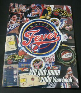 Indiana-Fever-WNBA-Basketball-2000-Yearbook-Program-EXCELLENT-CONDITION