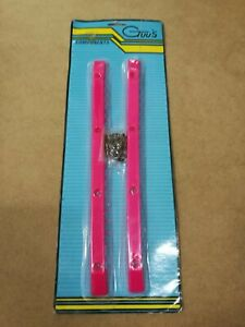 GTUSS-SKATEBOARD-COMPONENTS-VINTAGE-PINK-RAILS-IN-BLISTER-OLD-SCHOOL-NOS