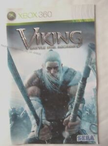 54630 Instruction Booklet-viling Battle For Asgard-microsoft Xbox 360 (2007)-afficher Le Titre D'origine