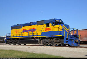 BROADWAY-LIMITED-5377-HO-SD40-2-Fort-Worth-amp-Western-w-Paragon3-Sound-DC-DCC