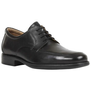 1550455354 Geox Federico Y Leather Semi-Formal Lace-Up Derby Mens Shoes