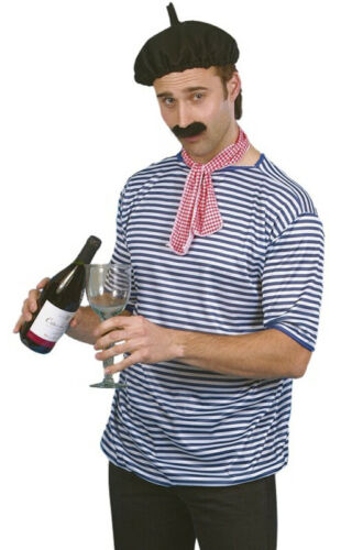 Brand New French Man Romance Costume Kit