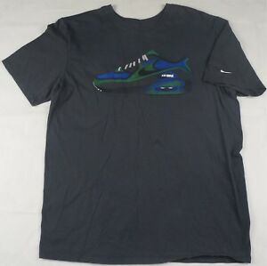 74ac715d12d Rare Vintage NIKE Air Max Spell Out Shoe Swoosh Logo T Shirt 90s ...