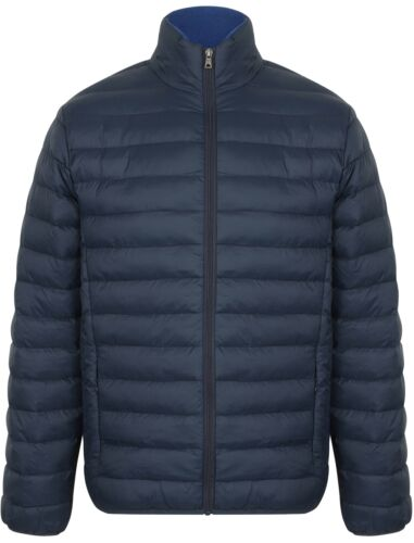 Tokyo Laundry Men/'s Bachmann Plain Quilted Padded Puffer Bubble Jacket