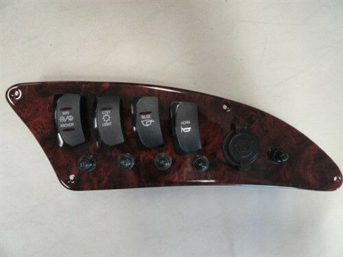 """STARCRAFT 242-03726-P ROCKER SWITCH BREAKER OUTLET PANEL 11-1//2/"""" X 4-1//4/"""" BOAT"""