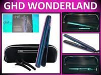 Ghd V Wonderland 1 Hair Straightener Flat Iron Styler Iridescent Gift Set & Bag